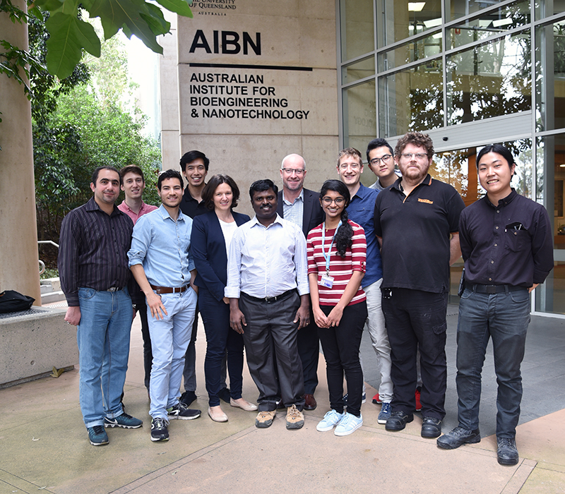 Martin group photo, AIBN