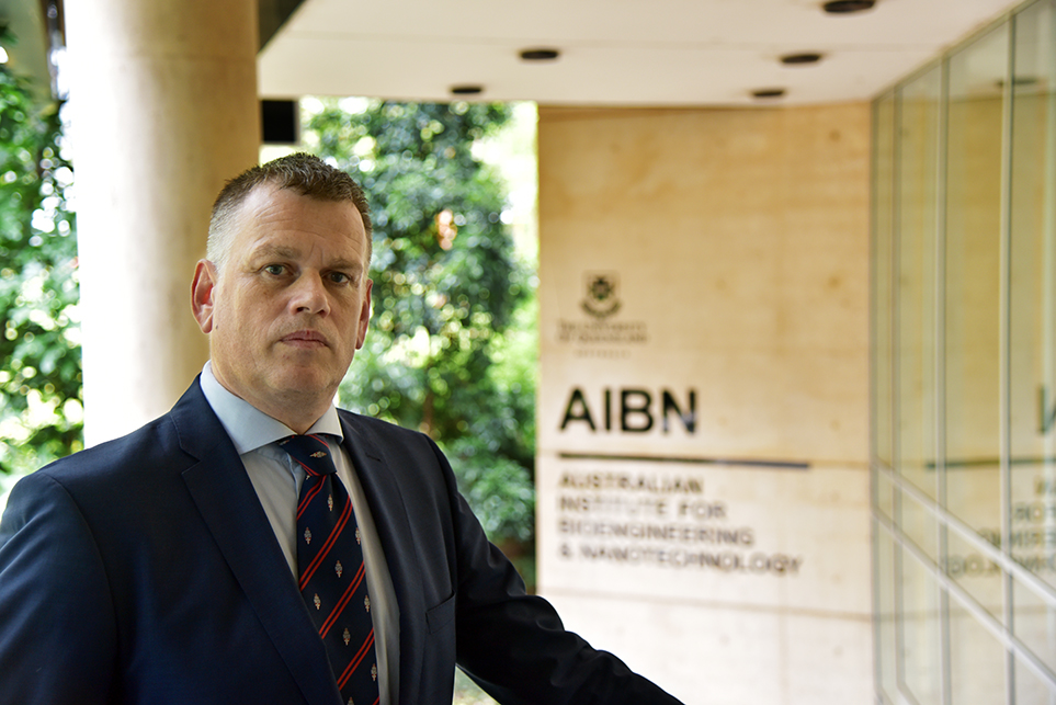Professor Alan Rowan joins The University of Queensland as the new Director of AIBN.