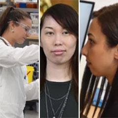 Ebony Watson, Serena Ekman, Dr Atefeh Taherian Fard